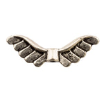Tibetan Silver Wings Spacer Beads (T1334)