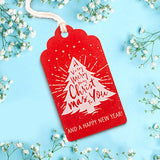 Merry Christmas and New Year Holiday Themed Gift Tags 5 Designs Value Pack