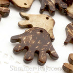 Coconut Shell Hand Buttons