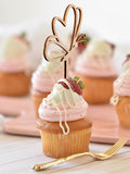 Wooden Butterfly Cupcake Topper Wedding Birthday Party Decorations