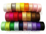 Taffeta Edge Double Sided Satin Ribbon 10 mm - 100 yards