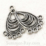 Tibetan Antique Silver Earring Dangle