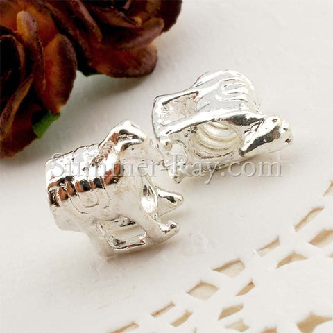 Center Threaded Spacer Rocking Horse Beads