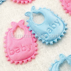 Fabric Embellishment - Bib 100 pieces