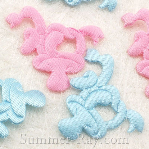 Fabric Embellishment - Pacifier 100 pieces