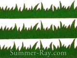Die Cut Faux Grass