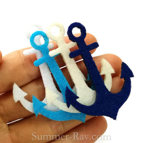 Felt Cut Out - Anchor 50 pieces