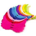Colorful Felt Angel Wing Lollipop Tag/Candy Holder for Parties/Baby Shower