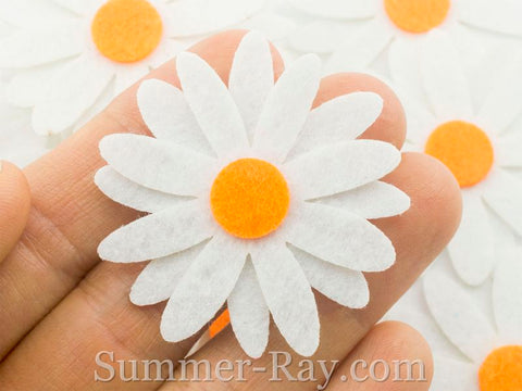 Felt Cut Out - Daisy 50 pieces