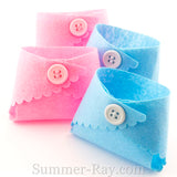 Felt Miniature Baby Diapers