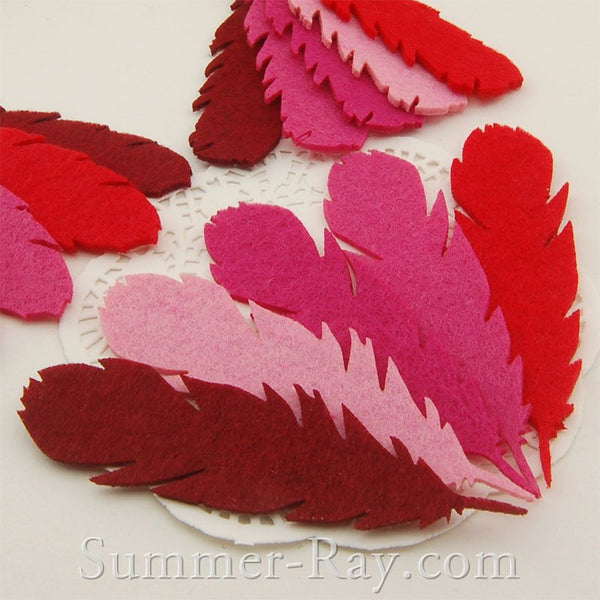 Feather Felt Cut Out