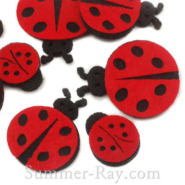 Felt Cut Out - Ladybug 300 pieces