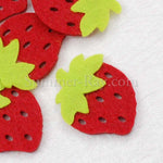 Strawberry Felt Cut Out