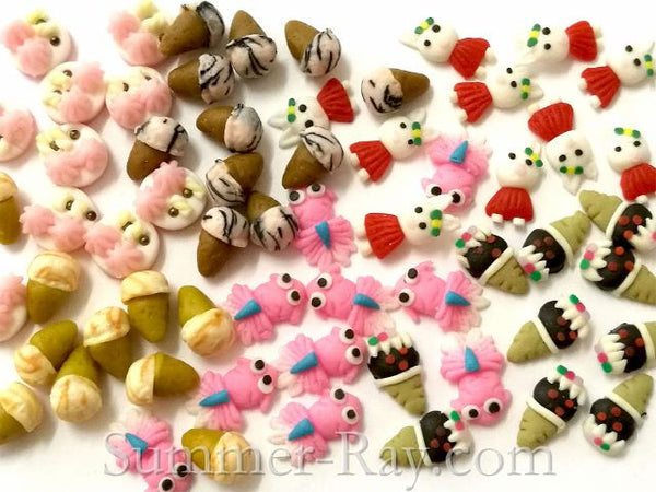 FIMO 3D Polymer Clay 6 Designs Nail Art