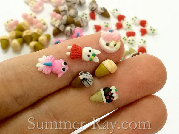 Fimo 3d polymer clay 6 designs nail art summer ray fimo 3d polymer clay 6 designs nail art prinsesfo Choice Image