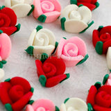 Fimo Polymer Clay Rose