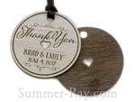 Personalized Laser Engraved Formica Wedding Gift Tags
