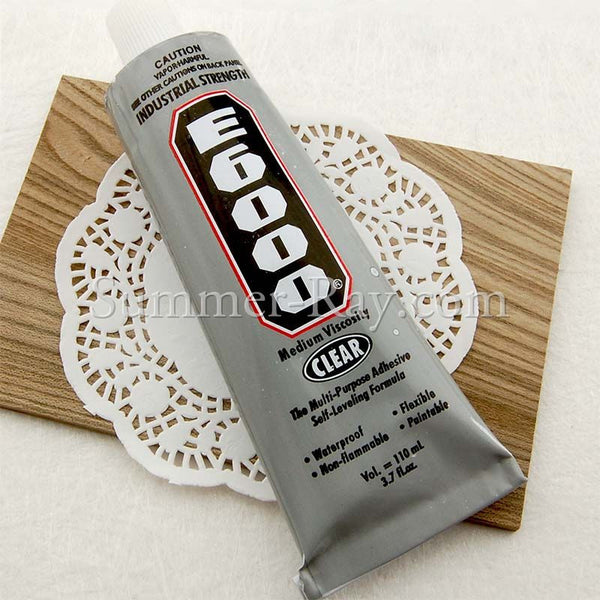 E6000 Industrial Strength Glue 110ml / 3.7 oz - 1 tube