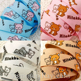 Koala Bear Printed Grosgrain Ribbon 16 mm - 5 or 10 yards