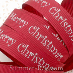 Merry Christmas - Burgundy