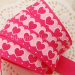 Sweet Heart Printed Grosgrain Ribbon 16 mm - 5 or 10 yards