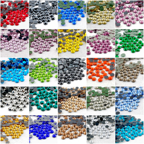 Hot Fix Rhinestone SS16 - 720 pieces