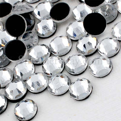 Hot Fix Glass Clear Rhinestones SS16 SS20 - 288 pieces