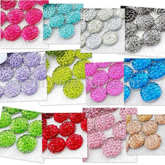 Rhinestones 8mm Icy - 100, 500 or 1000 pieces