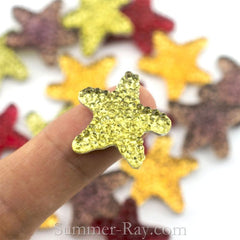 Rhinestones 20mm Icy Starfish - 50 pieces