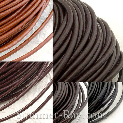 Leather Cord Strings