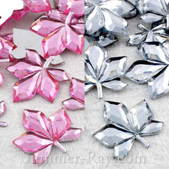 Jewels Leaves 20mm - 50, 100, 250 or 500 pieces