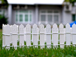 Miniature Fence - in the front lawn