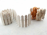 Miniature Fence - with mini bears (bears sold separately)