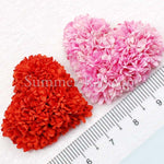 Mulberry Petal Hearts - 10 pieces