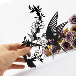 Paper Cut The Devotion Black and White Wall Art Paper Craft Wall Decoration
