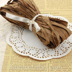 Vintage Newspaper Print and Doily Confetti Cone DIY Set