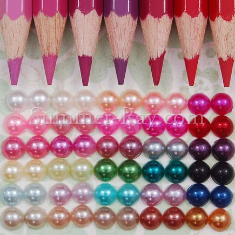 Flat Back Pearls 5mm - 500, 2500 or 5000 pieces