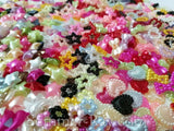Pearl Embellishment Multi Mixed Design and Color - 1100 pieces
