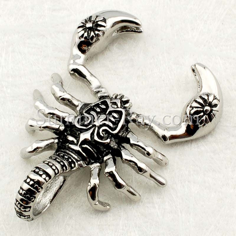 Stainless Steel Scorpion Pendant - (1) one