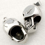 Stainless Steel Gothic Skull Pendant - (1) one