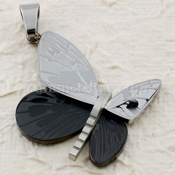 Stainless Steel Butterfly Pendant - (1) one