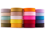 40 Yards (36.5 Meters) Petersham Ribbon 10 mm (3/8 inch) 20 Colors Bow Making Sewing DIY Craft Value Pack