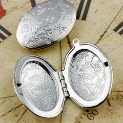 Oval Photo Lockets