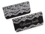 Place Cards with White Printing Lace for Wedding Parties