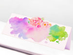 Watercolor Floral Design Wedding Place Cards/Seating Cards/Escort Cards
