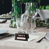 Personalized Black & White Country/Vintage Wedding Party Place Cards Escort Cards