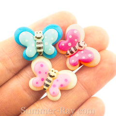 Cabochon Resin Butterfly
