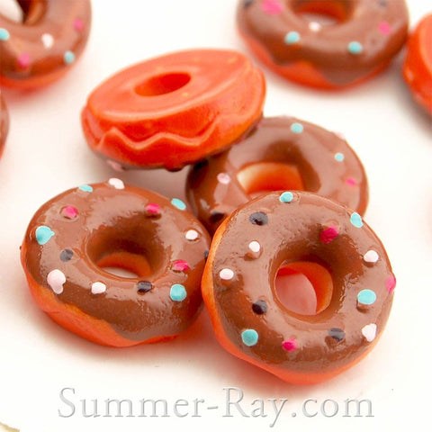Cabochon Resin Icing Donuts