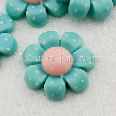 Cabochon Resin Flower