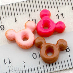 Cabochon Resin Cartoon Donut